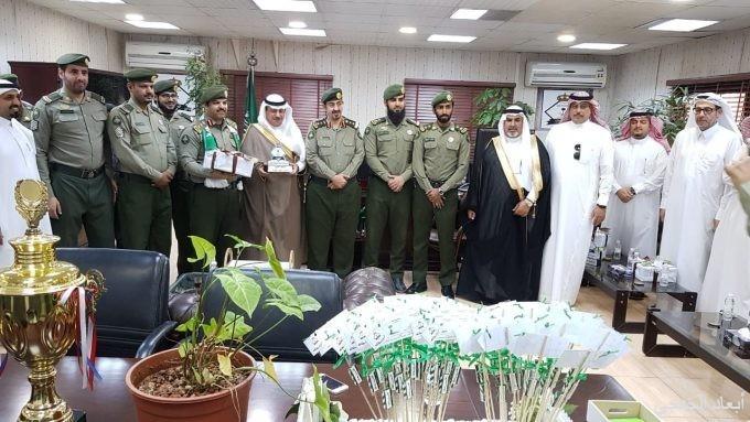جوازات«الخفجي» تحتفل باليوم الوطني 88