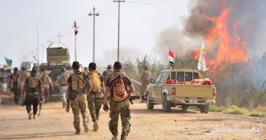 قصف تجمع لداعش فى ديالى وتدمير وكر فى أطراف الموصل بالعراق