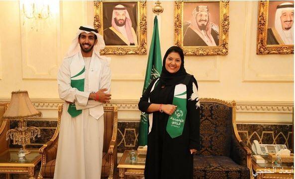 الأميرة ريما بنت بندر تستقبل سفير الإمارات لدى المملكة