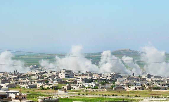 إدلب.. قصف وقتل وتعليق أنشطة إغاثية