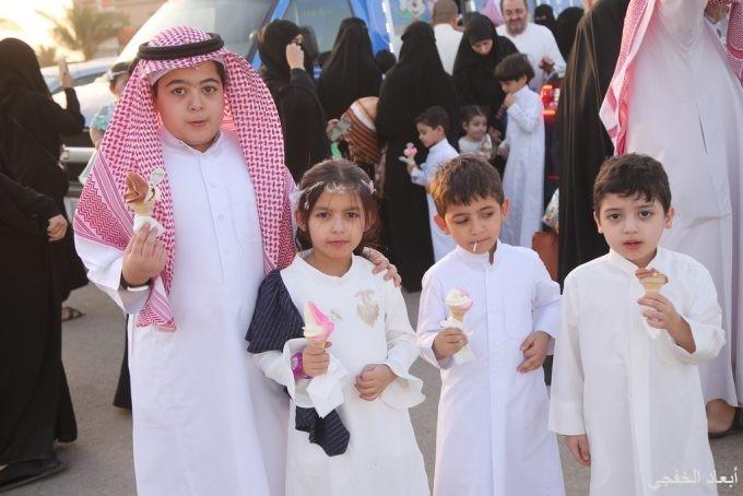 مجلس المنطقة الشرقية للمسئولية الإجتماعية يشارك أطفال الخفجي فرحة العيد