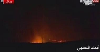 اندلاع حرائق فى منطقة تل أبيض السورية