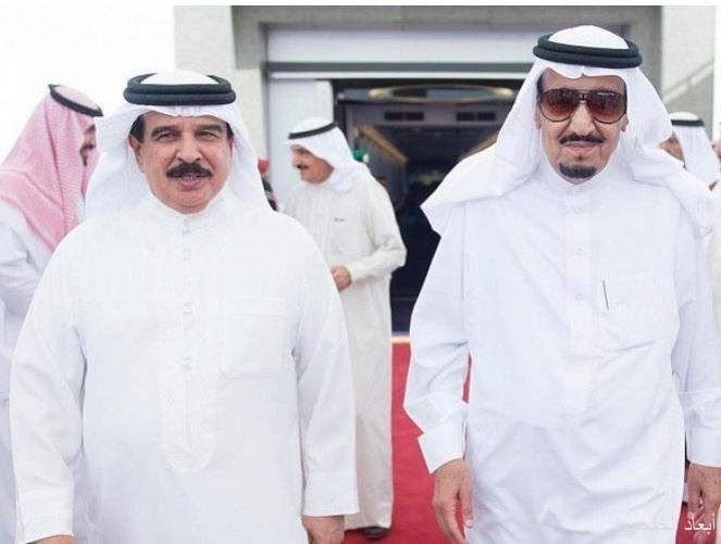 خادم الحرمين يتلقى اتصالاً هاتفياً من ملك البحرين