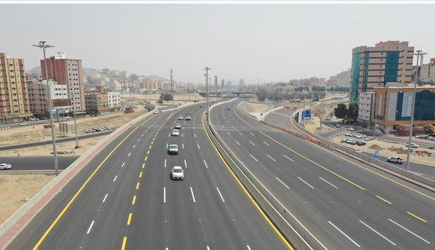 هيئة تطوير مكة تفتتح الطريق الرئيسي من تقاطع الكعكية حتى الطندباوي