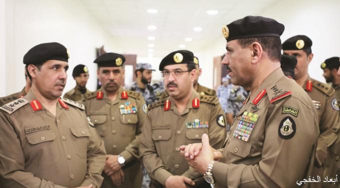 مدير الأمن العام يتفقد استعدادات الحـج