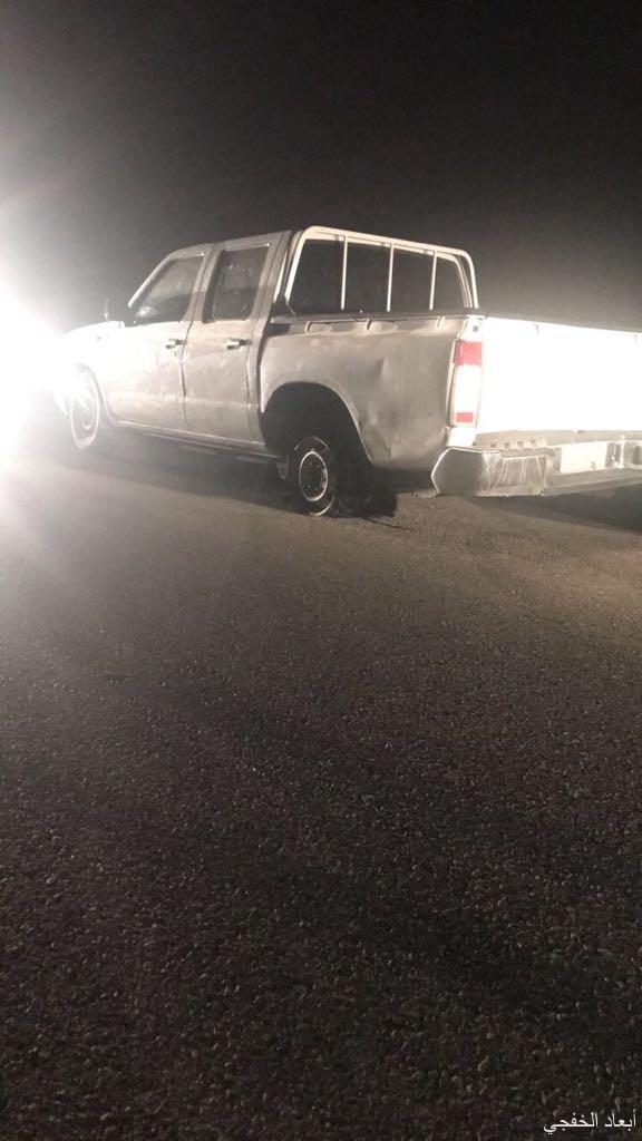 شرطة الخفجي تقبض شاب يمارس سرقة السيارات والتفحيط بها
