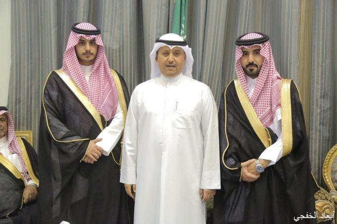 سعود بن هاجس السبيعي يحتفل بزواج أخيه «فهيد»