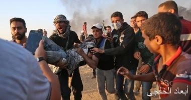 استشهاد فلسطينى ثان برصاص الاحتلال الإسرائيلى بقطاع غزة