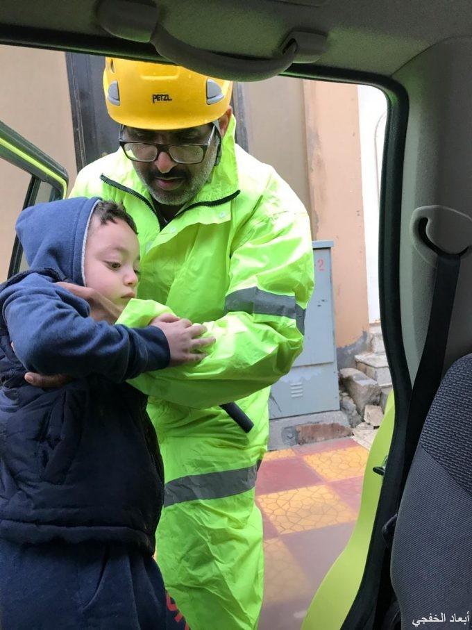 مدني الخفجي يحذر المواطنين والمقيمين من التقلبات الجوية