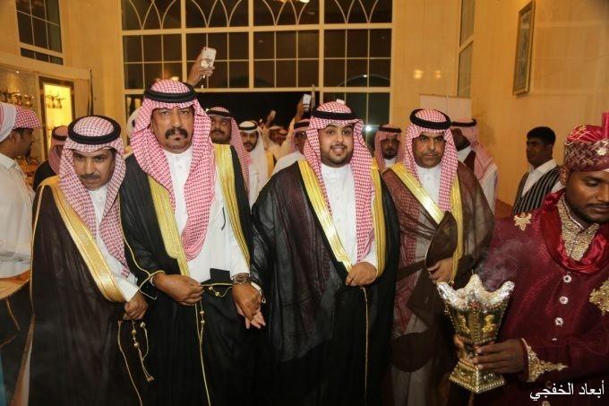 """مرزوق البلوي يحتفل بزواجه نجله """"فهد"""""""