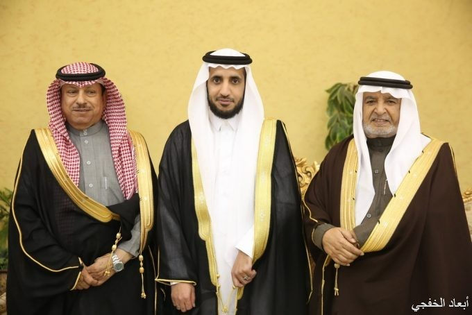 محمد بن عويضه البلوي يحتفل بزواج ابنه الرائد «عبدالله»