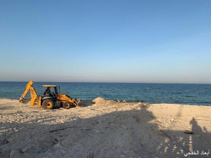 قريباً إفتتاح موقع السباحة الخاص بأصحاب الهمم في كورنيش الخفجي