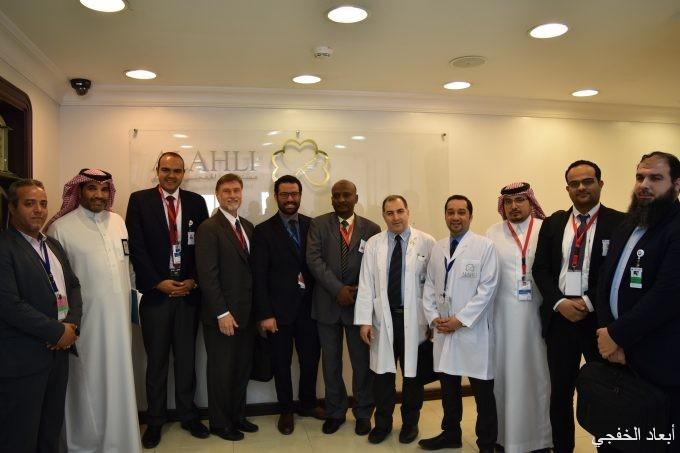 مركز إعتماد المنشآت الصحية يزور مستشفى الخفجي الأهلي