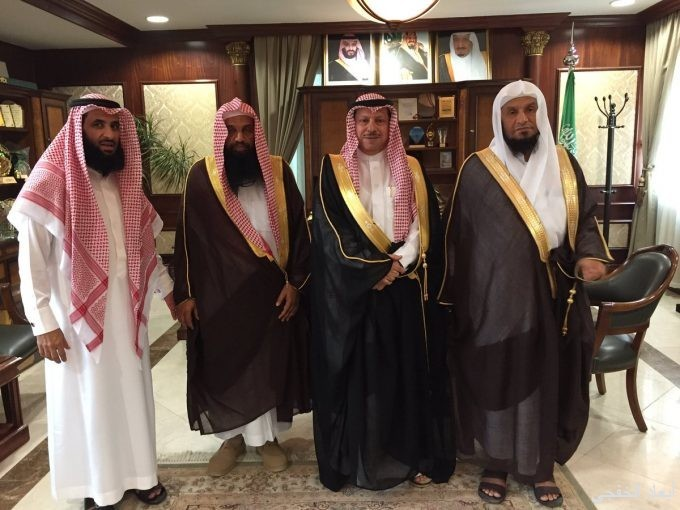 بالصور.. الشيخ العيد في جولة دعوية بمحافظة الخفجي