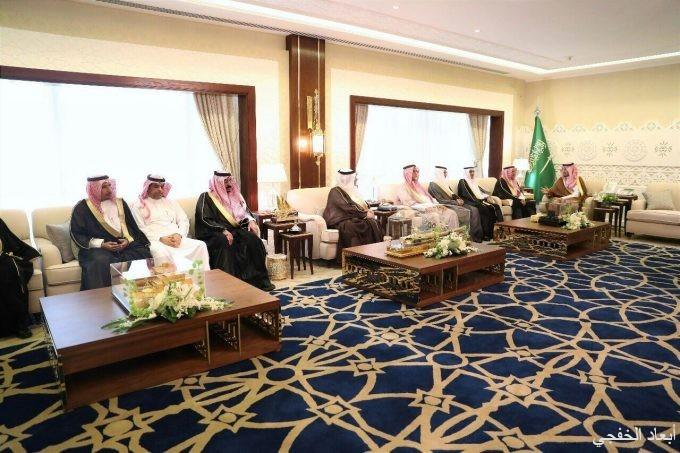نائب أمير الشرقية يستقبل مجلس أعمال الخفجي بغرفة الشرقية