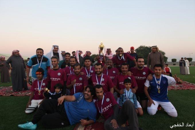 انتصار الزعيم بهدفين في ختام بطولة ملعب اسكان قوى الأمن بالخفجي