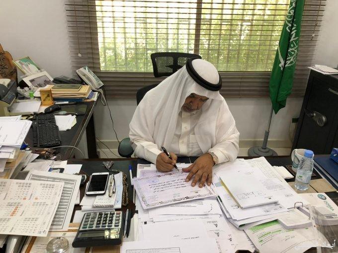 البلوي يوجه رسالة لمعلمي ومعلمات الشرق الأهليه وشهادات شكر وتقدير