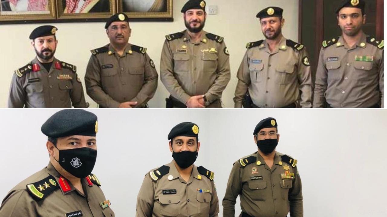 ترقية عدد من أفراد الأمن العام بالخفجي إلى رتبة رئيس رقباء صحيفة أبعاد الإخبارية