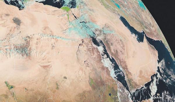 """أطول موجة برد """"زحزاحة"""" تضرب مناطق السعودية"""