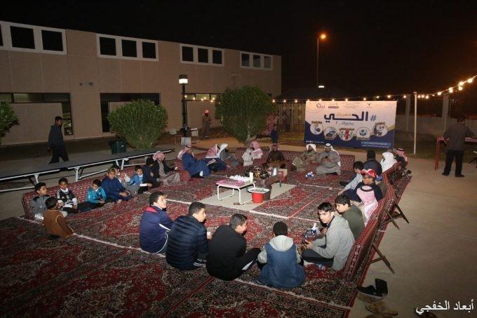 بالصور:نادي الحي بالخفجي يختتم مهرجان #الحي _يحييك2