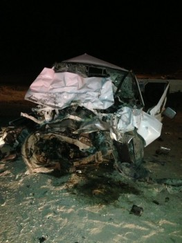 مصرع مقيمان في حادث شنيع على طريق الخفجي القديم