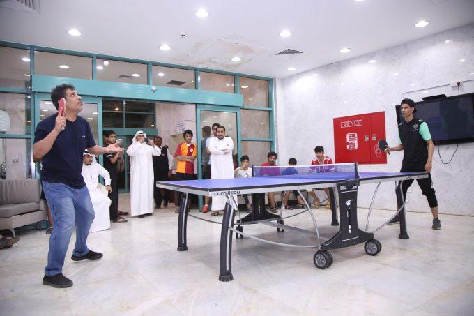 النادي الرياضي يقيم دورته الرمضانية في البلياردو وتنس الطاولة